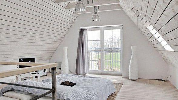 Schlafzimmer mit Dachschräge gemütlich gestalten - fresHouse - schlafzimmer dachschrage einrichten