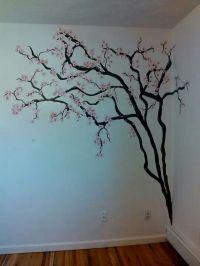 cherry blossom wall mural | cherry blossom tree | Wall ...
