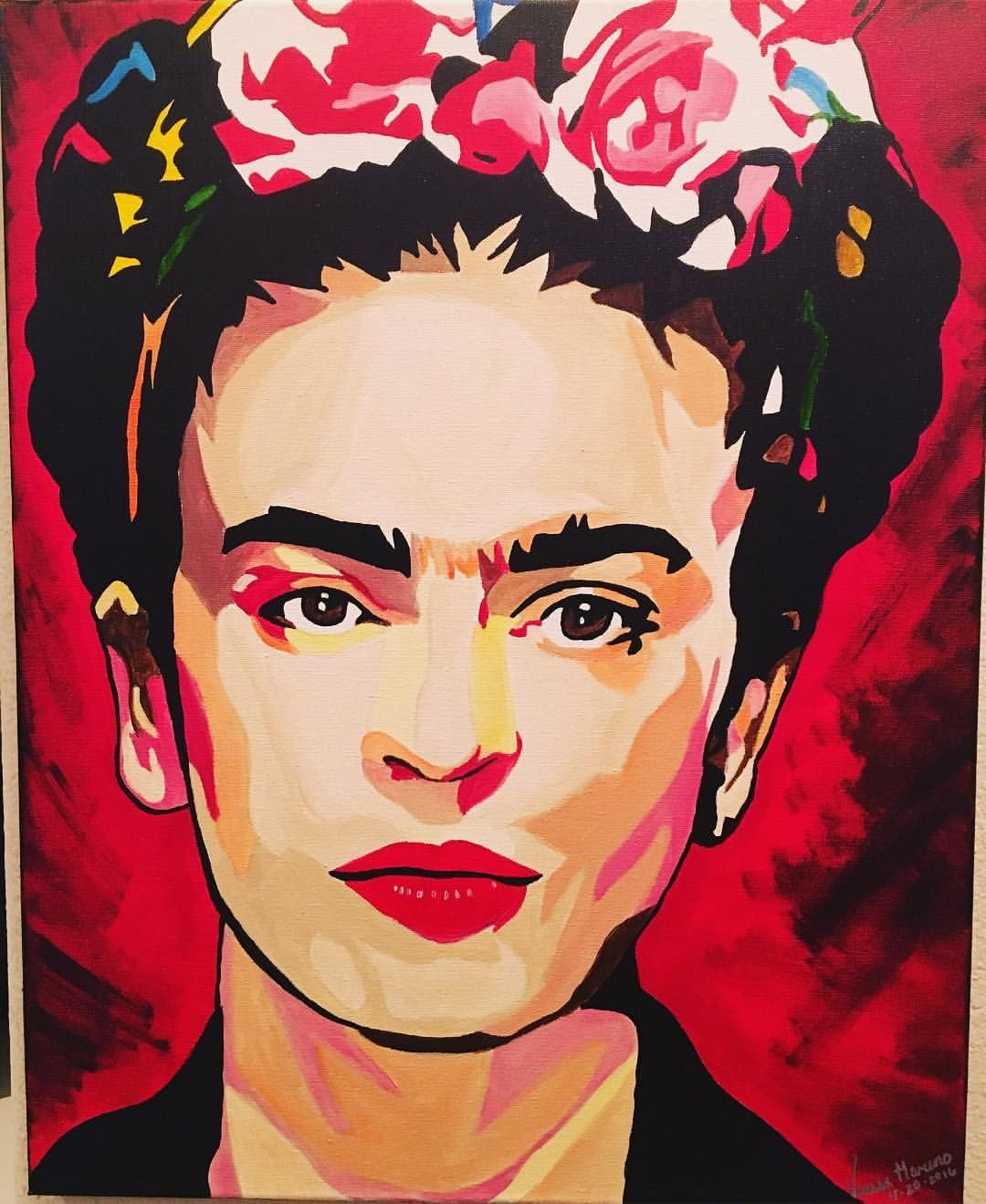 Frida Kahlo Pinturas Pin By Lilly Pe On Pop Art Pinterest Acrylics