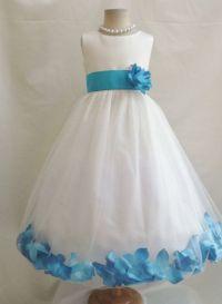 Rose Petal Dress Ivory at Luuni Kids The elegant Rose ...