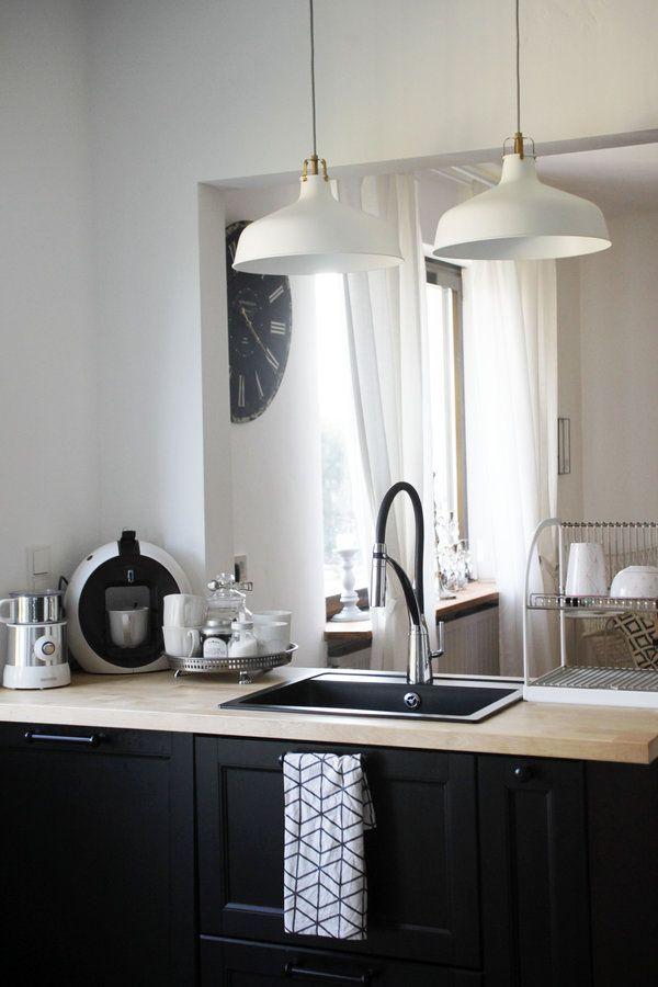 Offene Wohnküche im skandinavischen Stil #interior #einrihctung - wohnkuche ideen