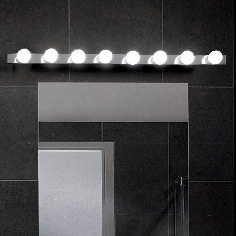 Hollywood Hollywood Design\/ Chrom\/ Wand Badezimmerlampe - badezimmer lampe