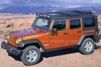 GOBI 2007-14 Jeep JK 4 Door Stealth Roof Rack with sun ...
