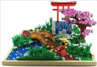 Lego garden | Japanese Garden | Pinterest | Lego, Gardens ...