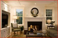 windows flanking fireplace | For the Home | Pinterest ...