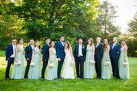 Navy and Mint Green Wedding Party | Wedding | Pinterest ...