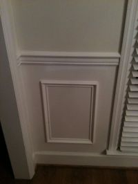 molding under chair rail | Home redecorating | Pinterest ...