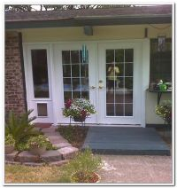 French Patio Doors With Built In Dog Door | Renovations ...