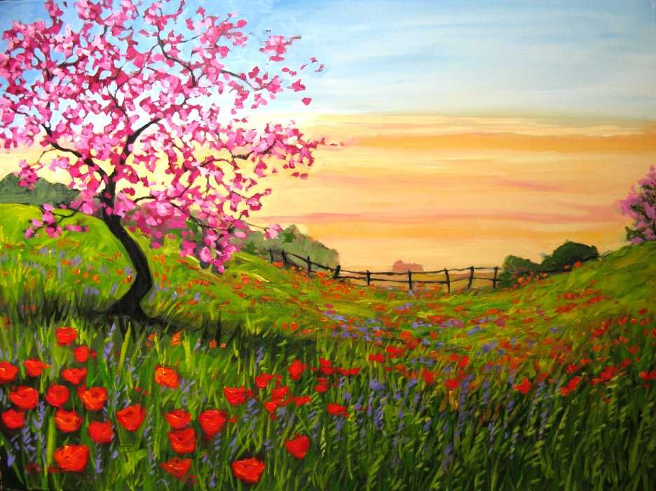 1000+ Images About Beautiful Landscape Paintings On Pinterest