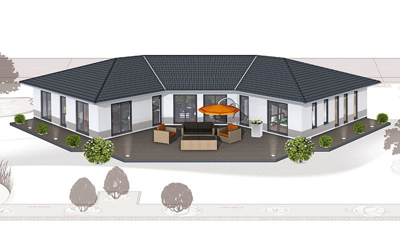 Haus Grundrisse Finden Haus Grundriss Häuser Ideen Pinterest Bungalow Dream Rooms And House - Haus Grundrisse Beispiele