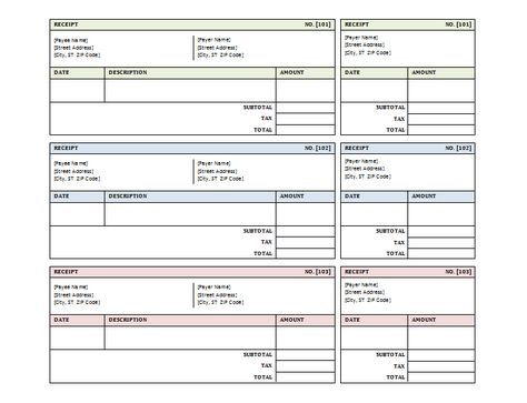Sales Receipt Template for Microsoft ® Word Bible study help - microsoft word legal template