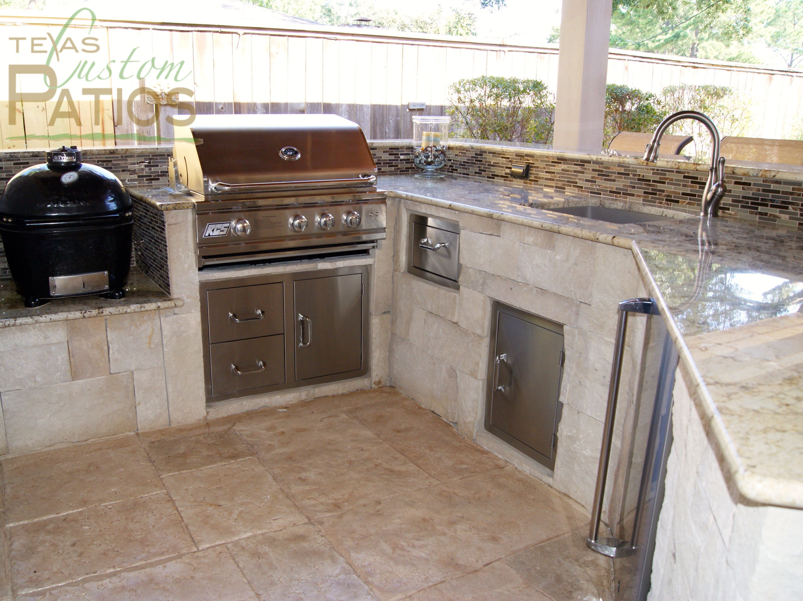 ... Outdoor Kitchen Design With Built In. Download