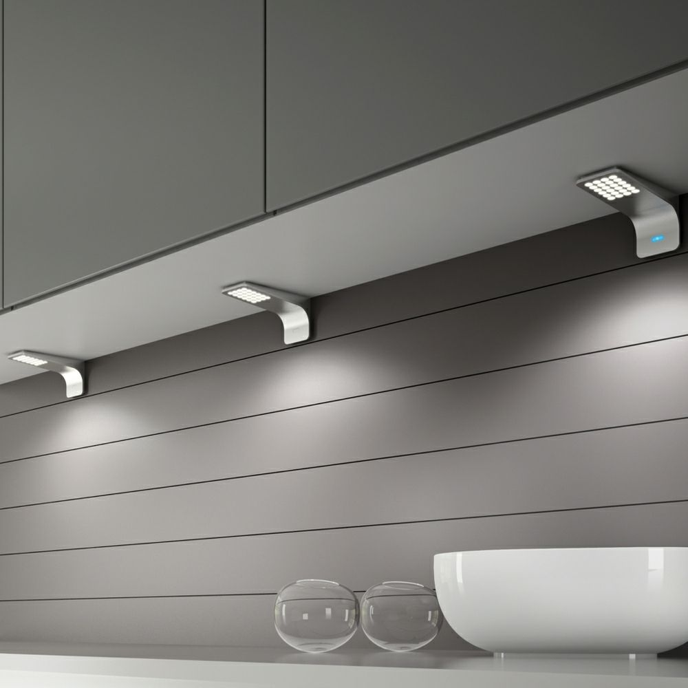 kitchen under cabinet lighting Modica LED Under Cabinet Surface Mounted Light