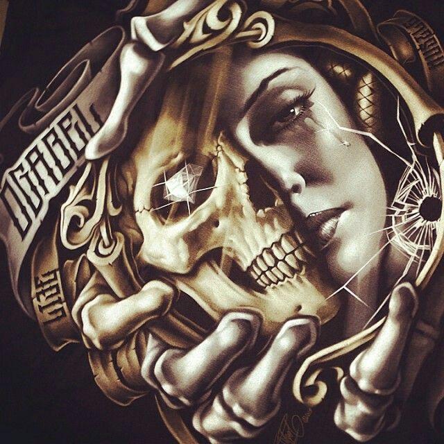 Gangsta Girls And Lowriders Wallpaper Og Abel O G A B E L Pinterest Chicano Chicano Art