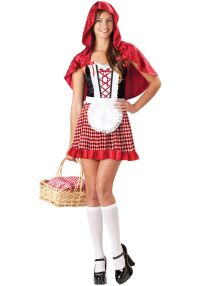 Red Riding Hood Costume - Teen - Red Riding Hood Costumes ...