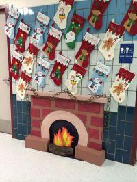 Fireplace | Classroom Door Decorations | Pinterest ...