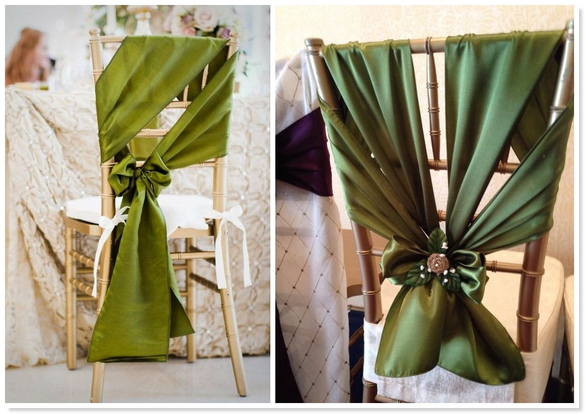 2014 wedding trends top 10 unique chair sash styles