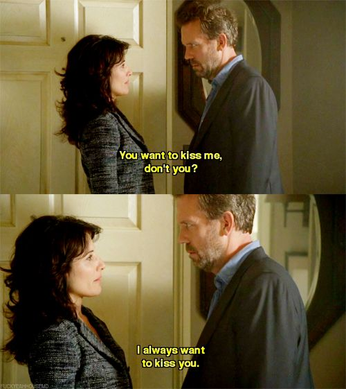 Hugh Laurie Quotes Wallpaper Dr Gregory House You Want To Kiss Me Don T You Dr