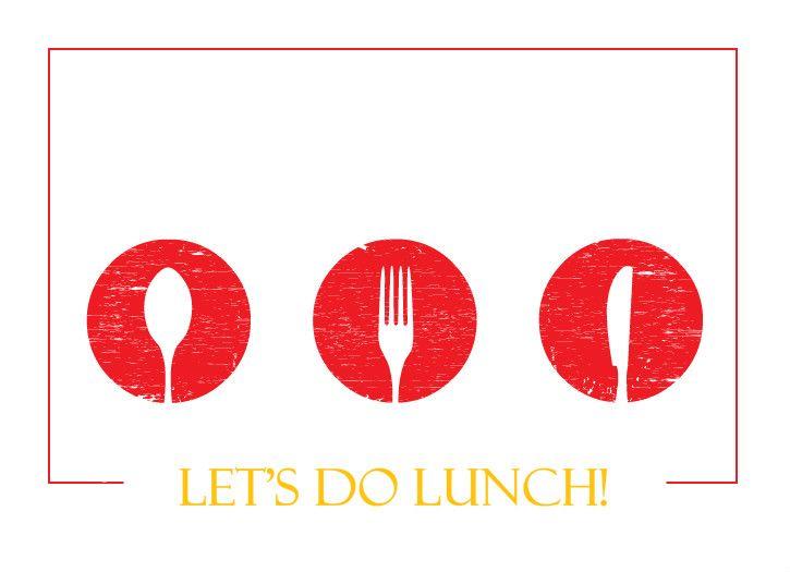 Lunch Table Silverware Lunch Invitation Invitations Pinterest - lunch invitation templates
