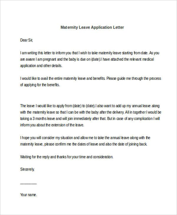 application letter templates doc free amp premium how write - application for leave