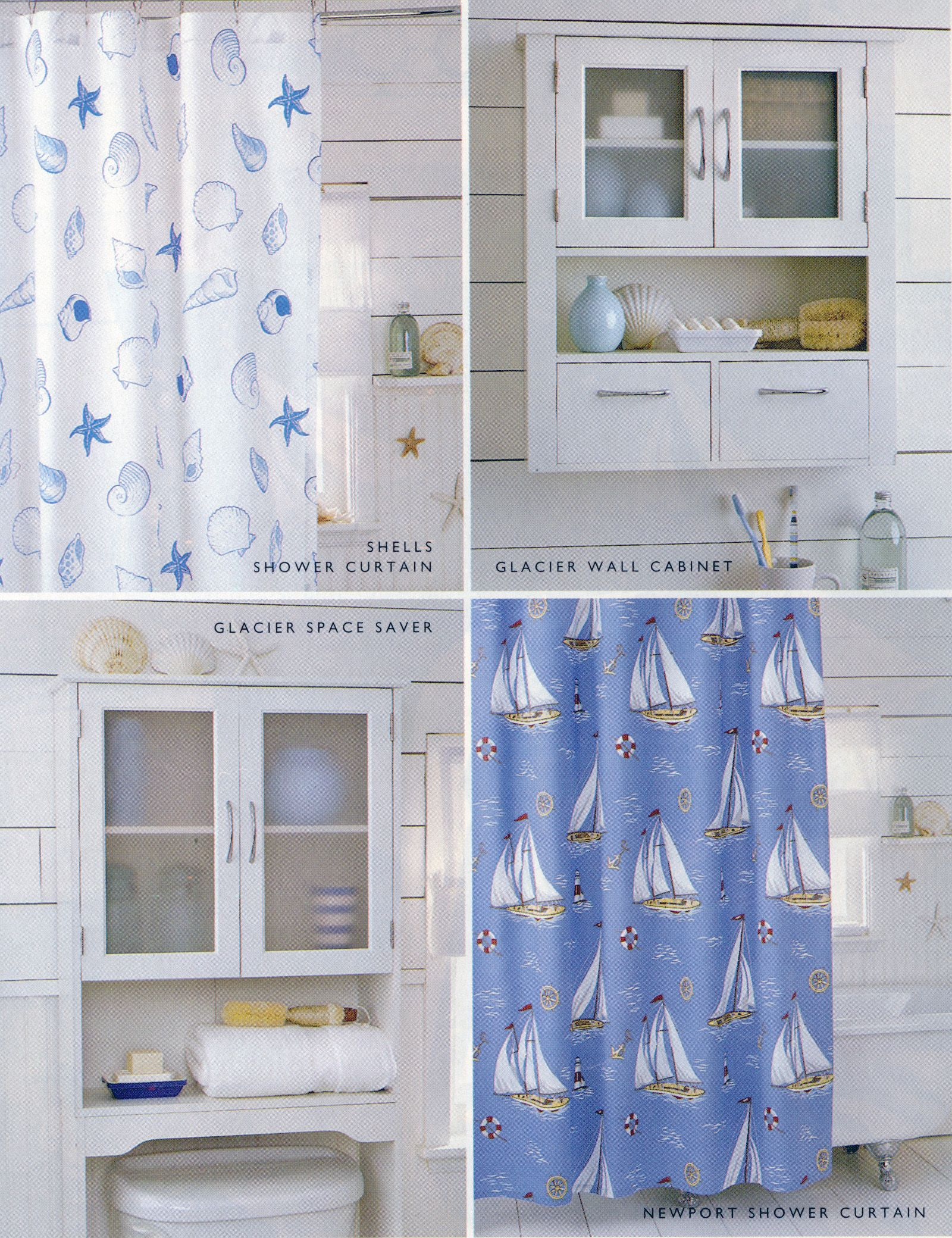 Bathroom Shower Curtains And Accessories Nautical Themed Bathroom Accessories Including Newport