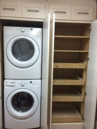 Laundry Pantry Combination Remodel | Small laundry rooms ...