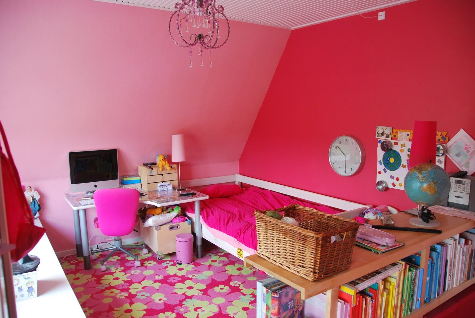 Stuff For Room Decor Pleasant Pink Themes Design Room For Teenage Girls With