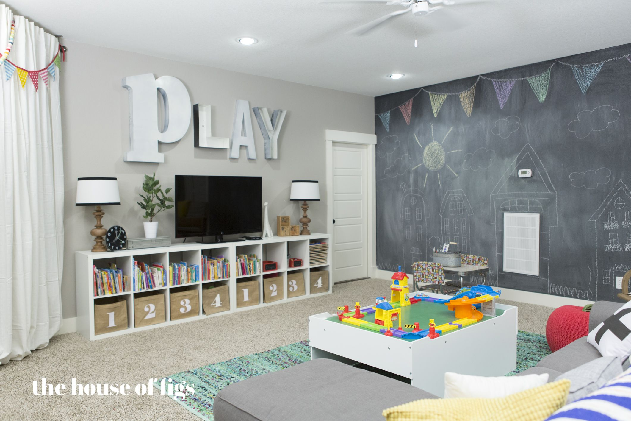 Boys Playroom Ideas Playroom Chalk Wall Stage The House Of Figs For The