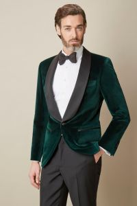 Shawl Collar Velvet Dinner Jacket | Fall Sport Coat/Suit ...