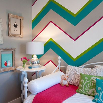 21 Creative Accent Wall Ideas for Trendy Kidsu0027 Bedrooms Paint - wall designs for bedroom