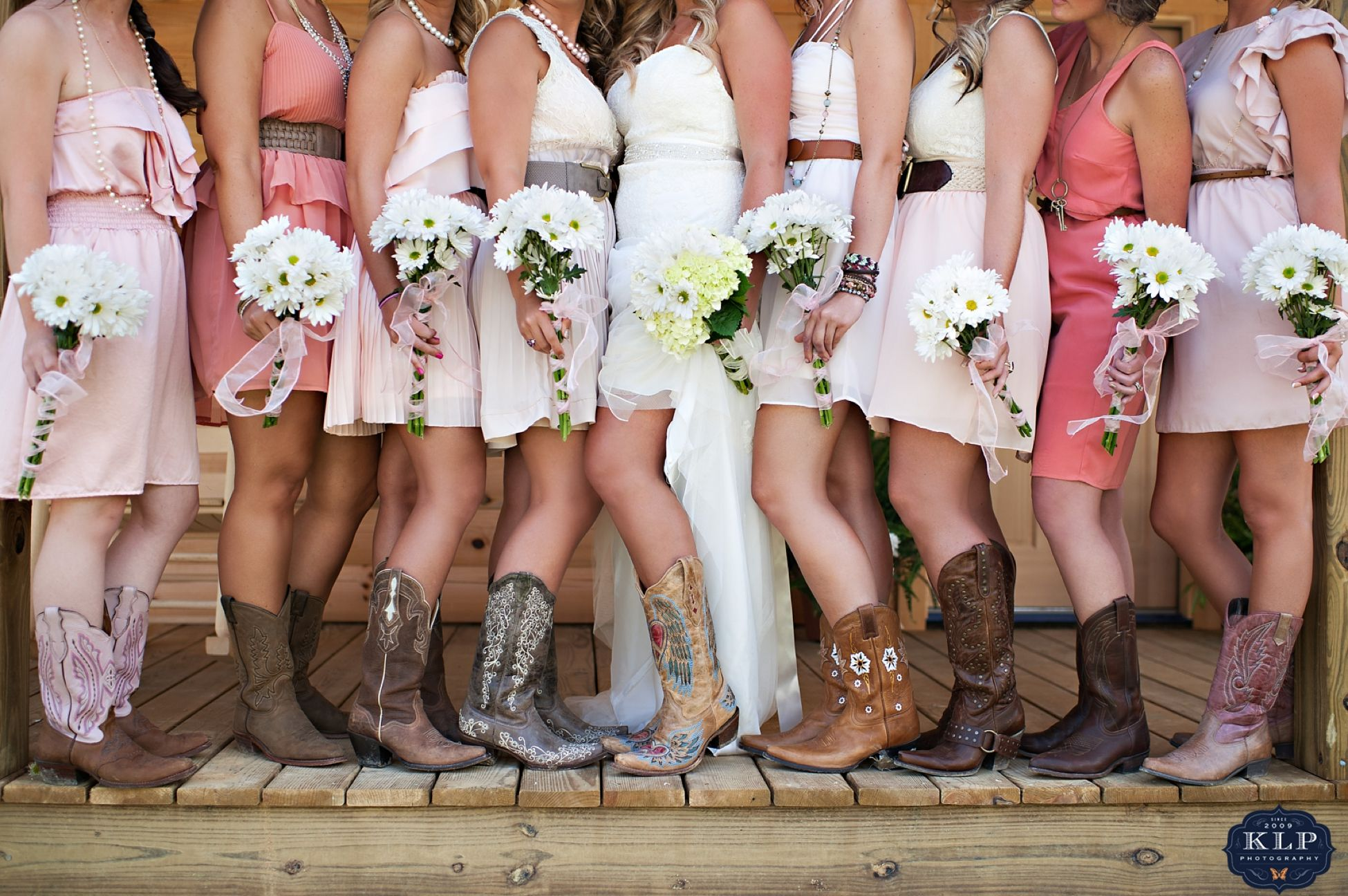 cowgirl wedding dresses Bridesmaid dresses and cowgirl
