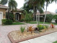 Tropical Front Yard Landscaping Ideas | ... front garden ...