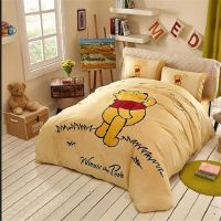 Yellow Winnie Pooh Classic Bedding In The Grass Winnie ...