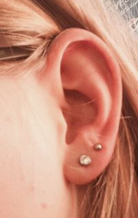 Double Earlobe Piercing Tumblr | www.pixshark.com - Images ...