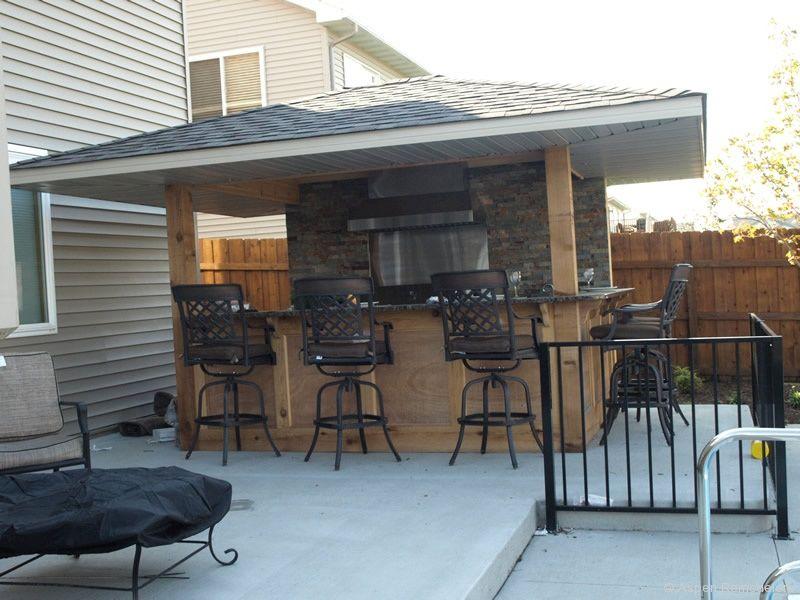 263 best Outdoor kitchen images on Pinterest Outdoor kitchens - outside kitchen ideas
