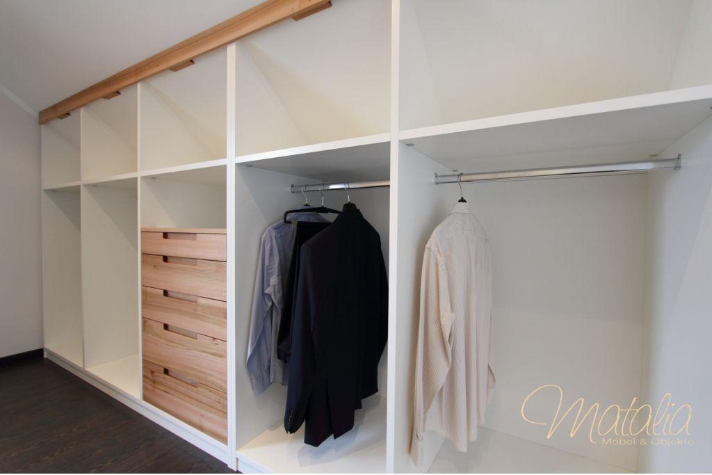 Einbauschrank, Dachschräge, Schiebetüren, Kleiderschrank - einbauschrank bei dachschrage mobel ideen bilder