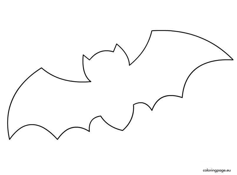 Bat Template Halloween Pinterest Bat template, Bats and Template - bat template