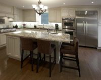 Custom Kitchen Islands with Seating