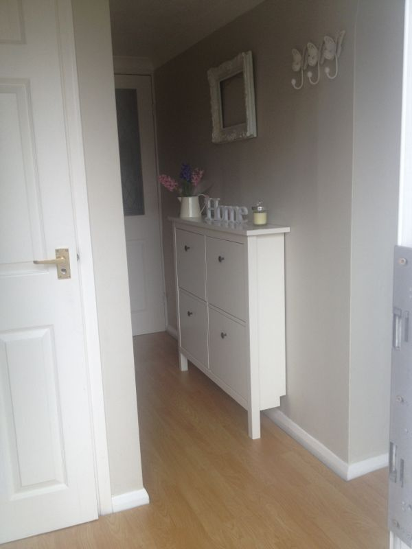 Shabby Chic Small Shoe Storage For Small Hallway Ideas