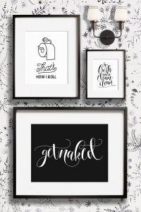 Funny bathroom wall decor art prints - Printable art and ...