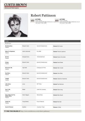 32 Brilliant Celebrity and Celebrity Wannabe Actorsu0027 Resumes - professional actor resume