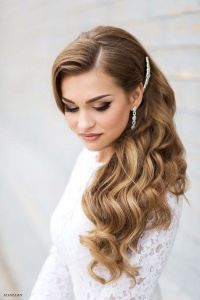 20 Long Wedding Hairstyles with Beautiful Details That WOW ...