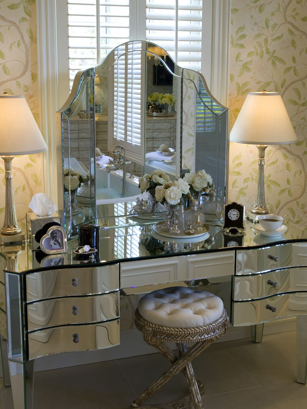Dressing Table Designs For Master Bedroom Mirrored Furniture Photos Mirror Furniture Vanities And