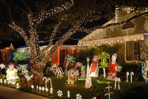 christmas murals for yard decorating colors Cover your yard - christmas decorations for outside
