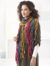 Mesh Scarf (Crochet) - Lion Brand Yarn | fashion ...