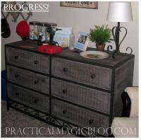 Painted Wicker Dresser Design Decorating 525930 Decorating ...