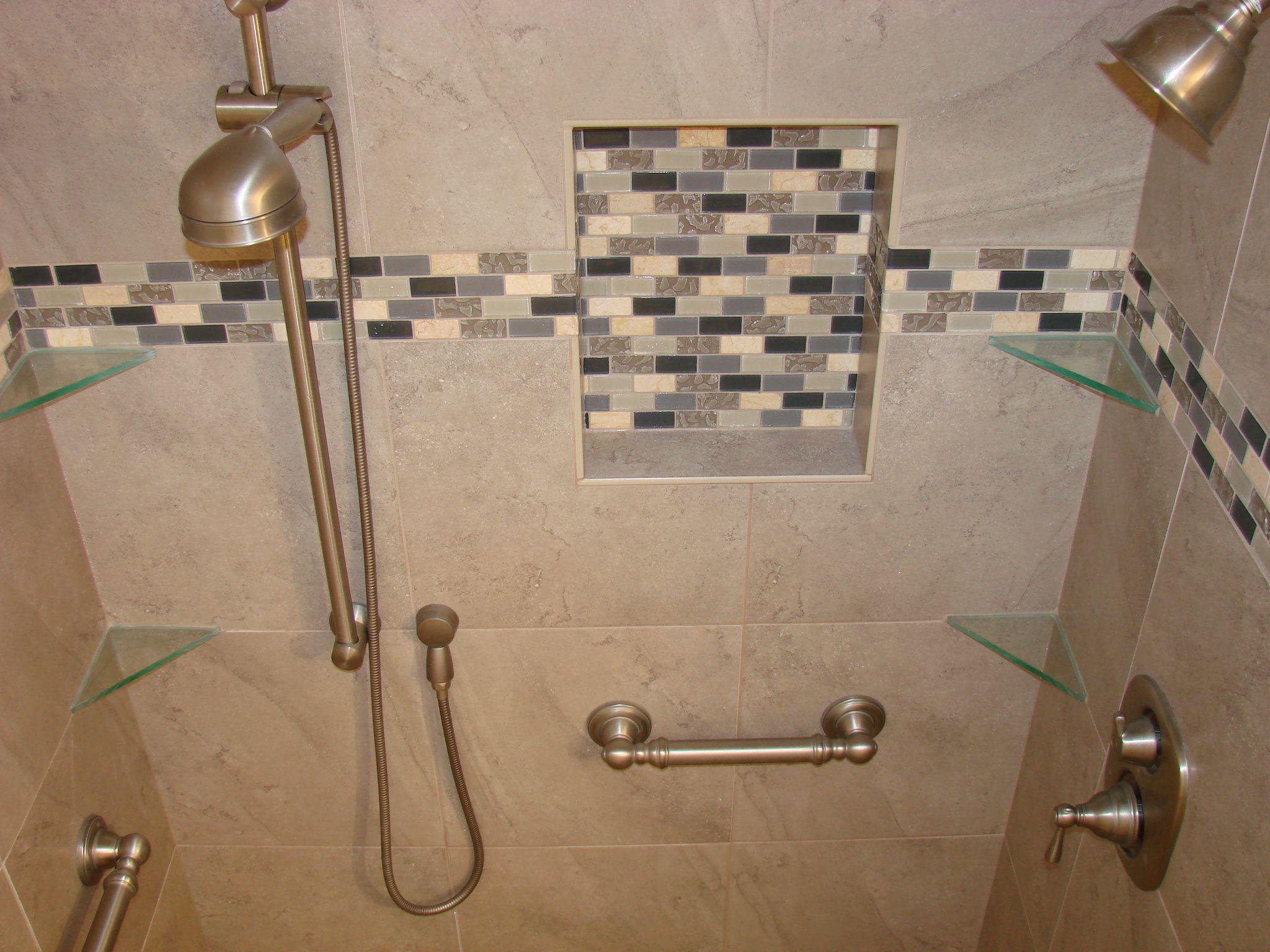 bathroom tile accent ideas