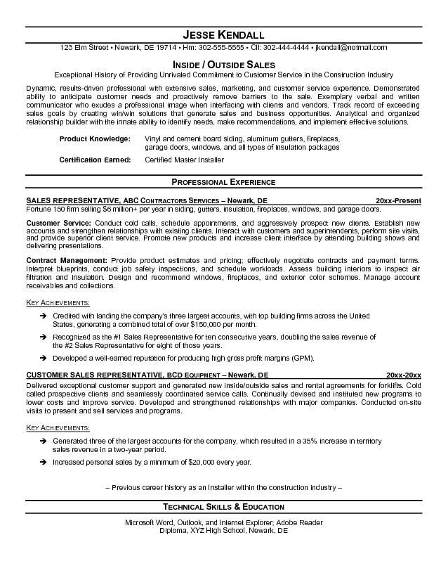 Admissions Representative Sample Resume Professional College - admissions representative sample resume