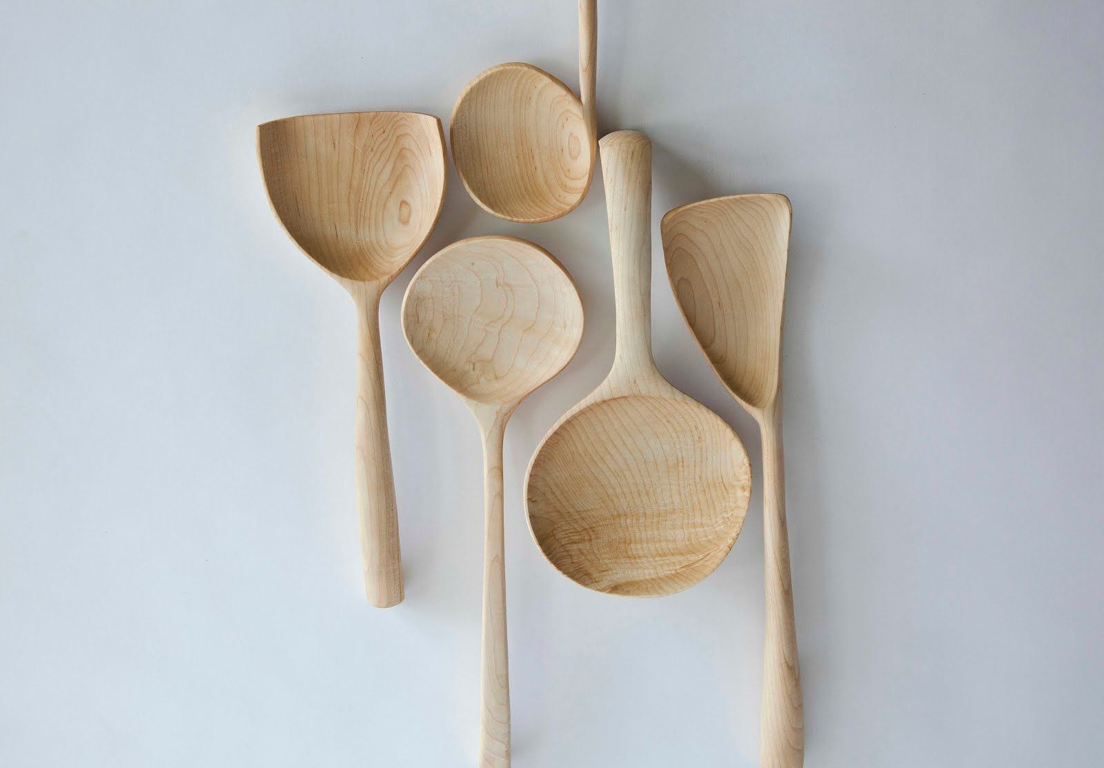 Bambu Cocinas Joshua Vogel Sculptural Kitchen Tools Lettering