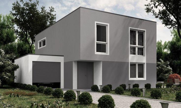 Fassadengestaltung Bungalow Grau nzcen - fassadenfarben fur hauser